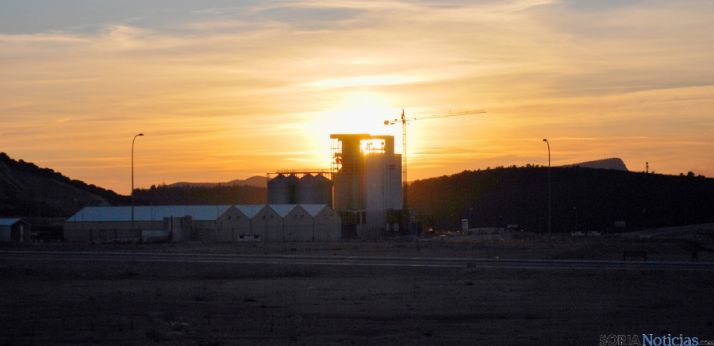 Imagen de las instalaciones de COPISO, empresa que se está instalando en Valcorba. / SN