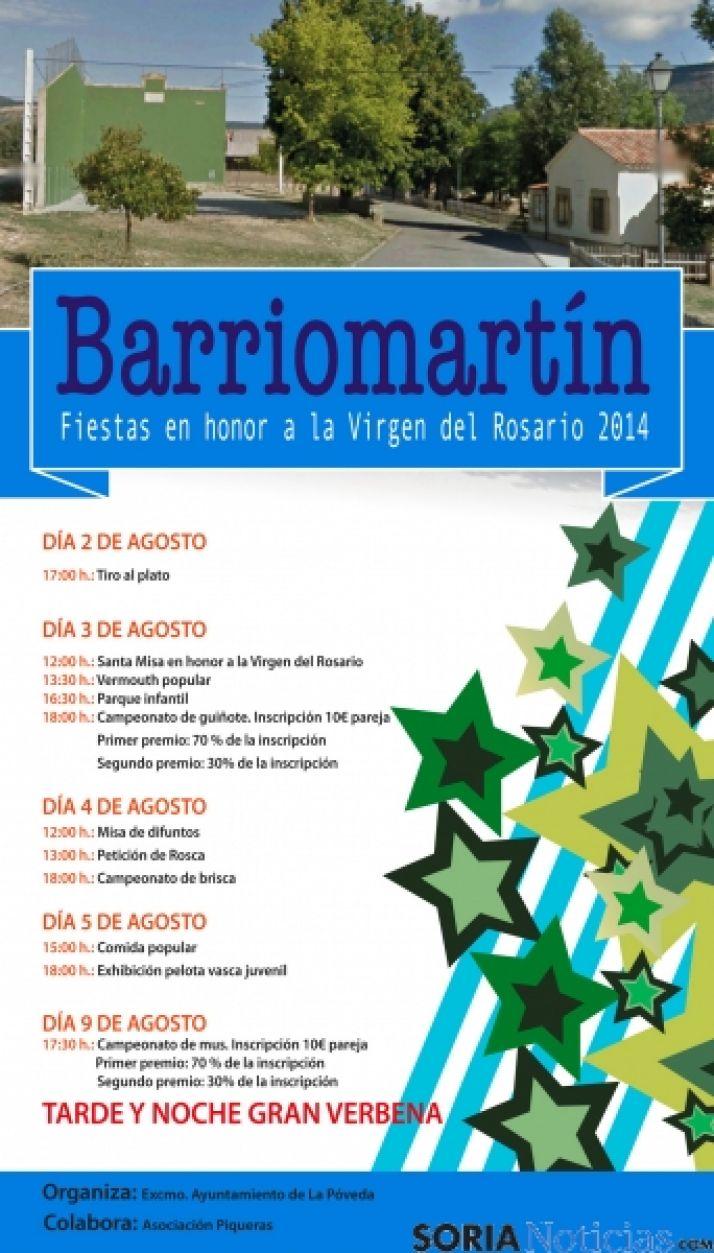 Cartel de Barriomartín