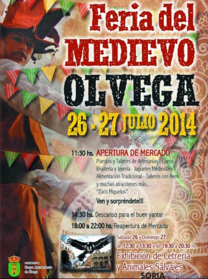 Foto 1 - Ólvega celebra su mercado medieval este fin de semana