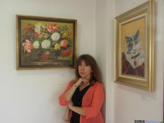 Begoña García expone parte de su obra pictórica en el Museo de San Leonardo