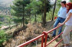 Foto 2 - Inician las obras del sendero peatonal entre el río Duero y el parque del Castillo de Soria