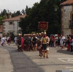 Recreacion lucha entre Numancia y Roma