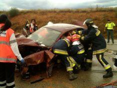 Accident en Gómara