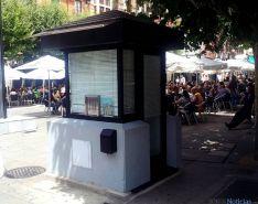 El kiosco de propiedad municipal. / SN