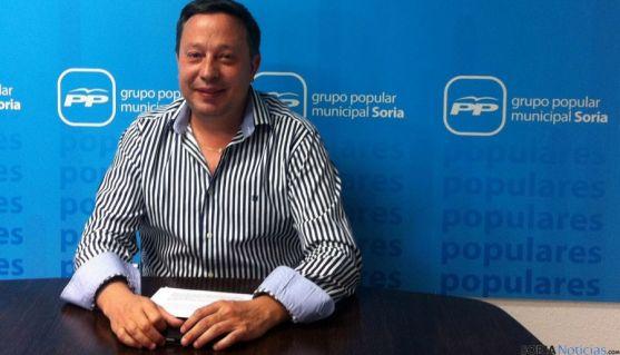 El concejal popular Adolfo Sainz.