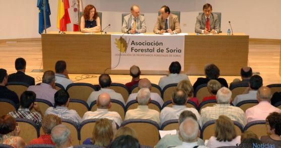 Presentación del proyecto en la sede de la Junta en Soria. / Jta.