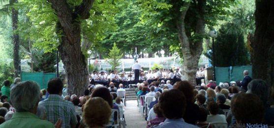 Concierto de la Banda en verano de 2013. / SN