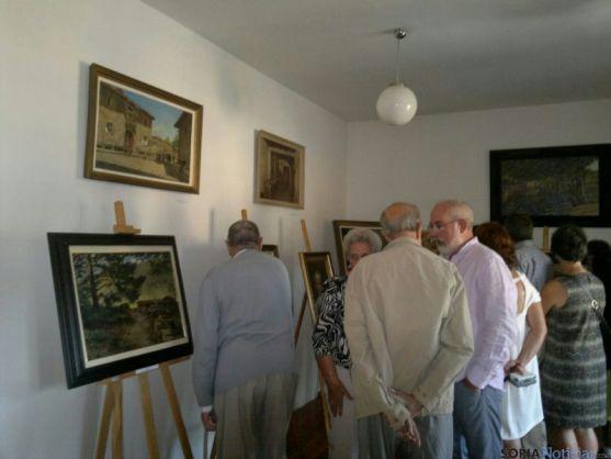 Exposición Maximino Peña en Salduero