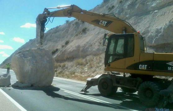 Retirada de la roca