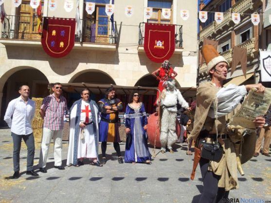 Inauguración del Mercado de San Esteban de Gormaz