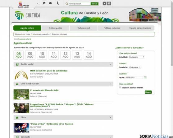 Nuevo portal cultura
