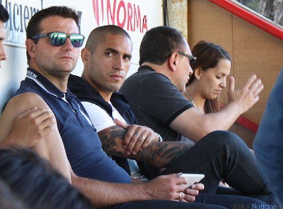 Braian con César Palacios