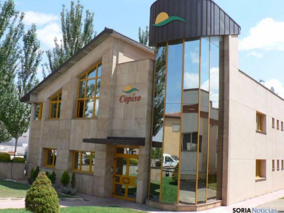 Sede de la cooperativa soriana COPISO