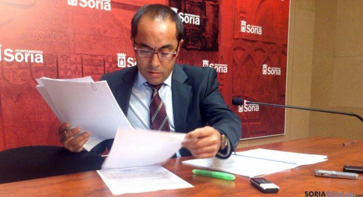 El concejal Luis Rey, en una imagen de archivo. / SN