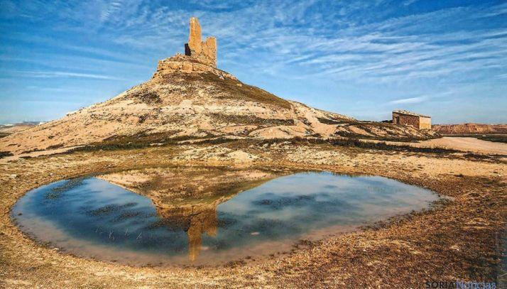 'Reflejo histórico', imagen de J. A. Antón, galardonada con el tercer premio de 2013. / JAA