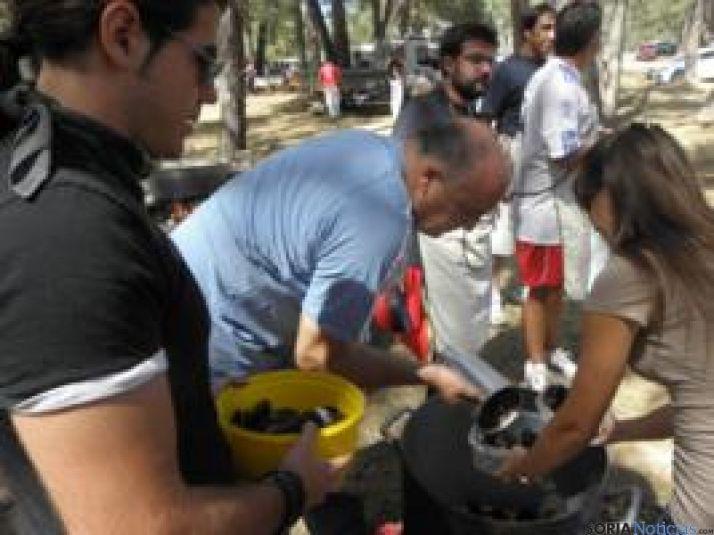 Fiesta del mejillón en Cabrejas del Pinar