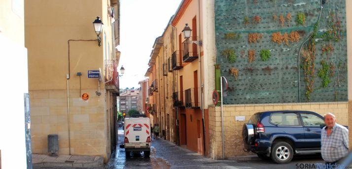 La calle Real, dentro del casco histórico de la ciudad. / SN
