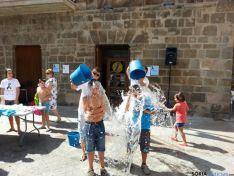 Instante del Ice Bucket Challenge en Ágreda