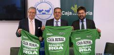 Crespo, (izda.), Mugarza y Munilla este martes.