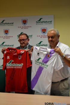 Presentación del nuevo patrocinador Soria Natural