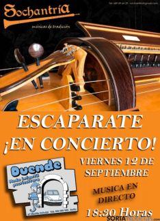 El concierto se podrá escuchar en la calle.