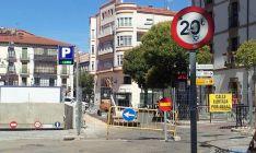 Imagen de la plaza Jurados de Cuadrilla este lunes. / SN