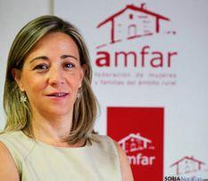 Lola Merino, presidenta de AMFAR.