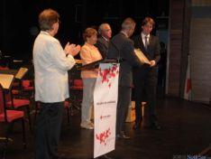 Foto 6 - Diputación y Ayuntamiento de Soria recogen las Medallas de Oro de Cruz Roja Española