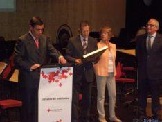 Diputación y Ayuntamiento de Soria recogen las Medallas de Oro de Cruz Roja Española