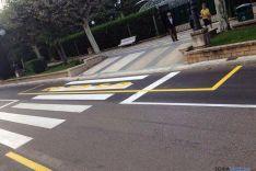 Imagen de la señalización horizontal. / SN