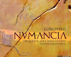 Cartel del concierto de la sinfonía 'Nvmancia'
