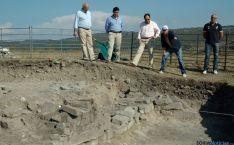 Visita a la excavación de Los Casares