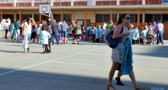 El curso ya se iniciaba ayer en Soria. / SN