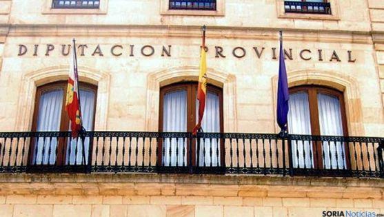 Fachada del Palacio Provincial de la Diputación. / SN