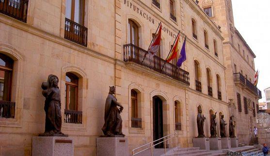Imagen del Palacio Provincial sede de la Diputación de Soria. / SN