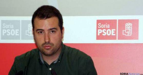 Ángel Hernández, secretario de Política Municipal del PSOE soriano. / SN
