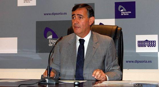 El presidente de la Diputación, Antonio Pardo, este miércoles. / Dip