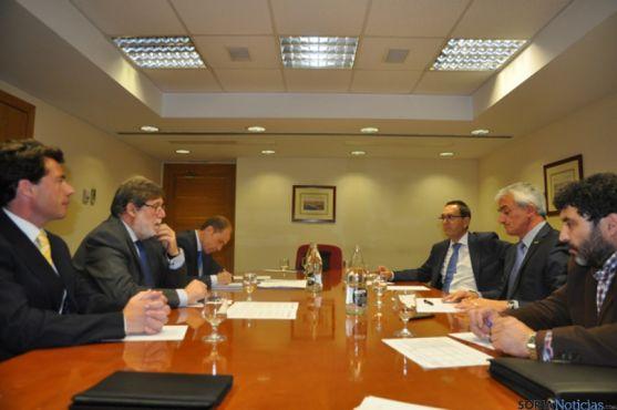 Reunión antes de la ponencia