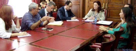 Reunión Subdelegación del Gobierno
