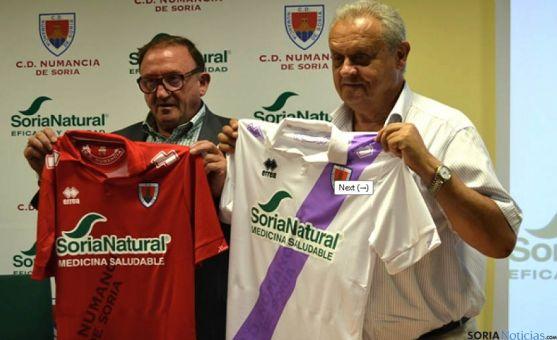Presentación del nuevo patrocinador Soria Natural. / SN