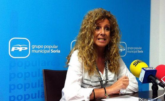 La concejal popular de Soria, Valentina Liso.