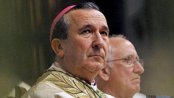 El obispo, Gerardo Melgar.