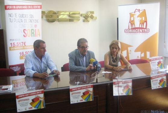 Jesús Martínez, Jesús Muñoz y Teresa Valdenebro