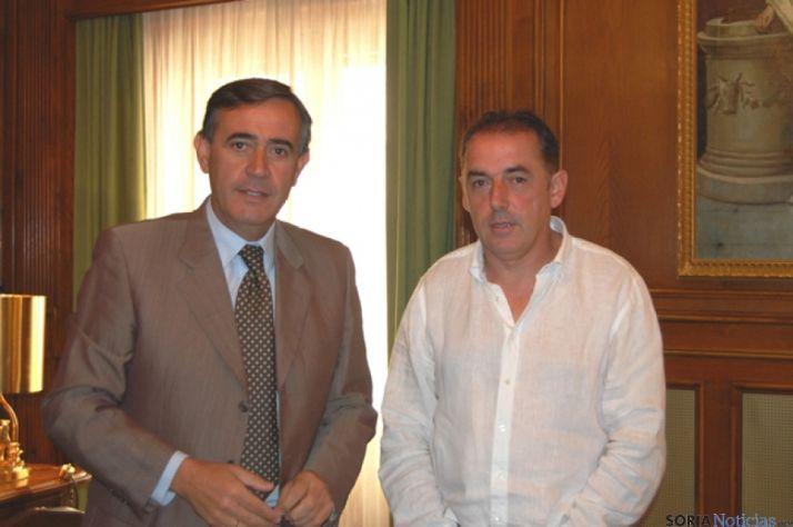 Antonio Pardo y Benito Serrano