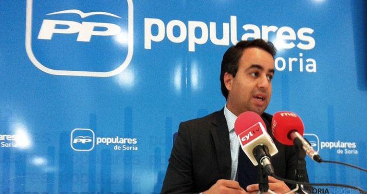 El procurador popular Ignacio Soria.