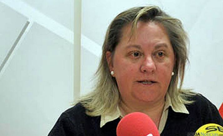 Asunción Medrano, alcaldesa visontina. / SN