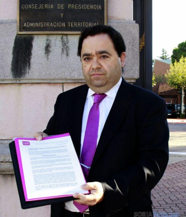 Rafael Delgado, coordinador de UPyD.