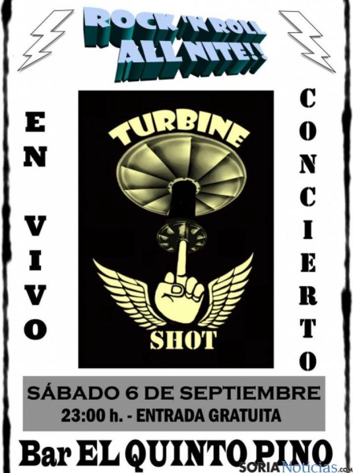 Turbine Shot, de nuevo en concierto.