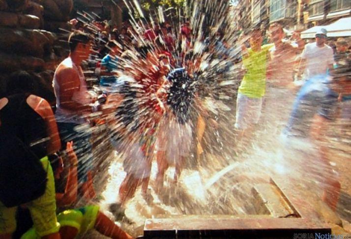 Foto ganadora, 'Explosión', de Antonio Soria