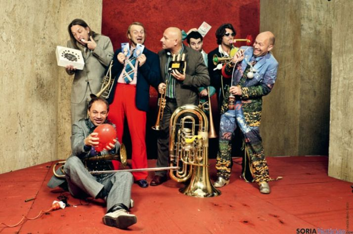 El singular grupo musical Mnozil-Brass